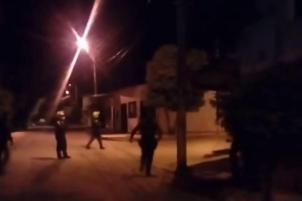 Un atentado con explosivos se presentó anoche en el barrio Galán al sur de Neiva.