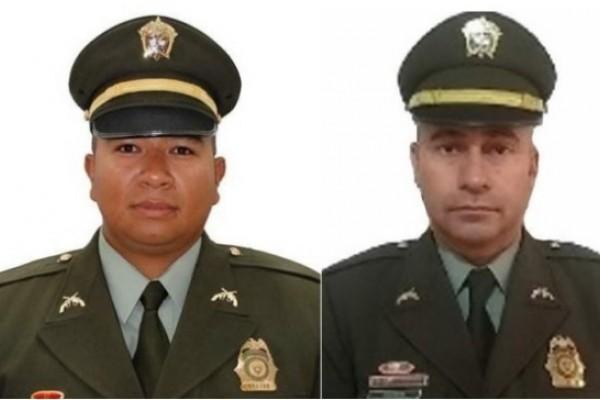 En Antioquia dos policías resultaron muertos tras ser atacados con ráfagas de fusil