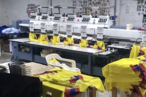 Tenga cuidado producir o vender camisetas de la Selección Colombia sin permiso es delito