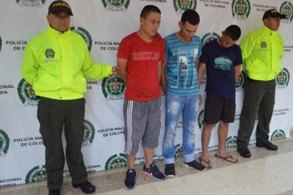 Policía capturó tres presuntos homicidas del empresario de Rivera