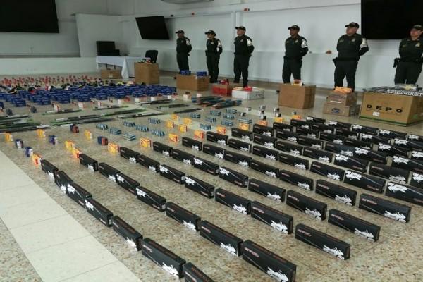 Incautadas más de 2.000 autopartes en Neiva