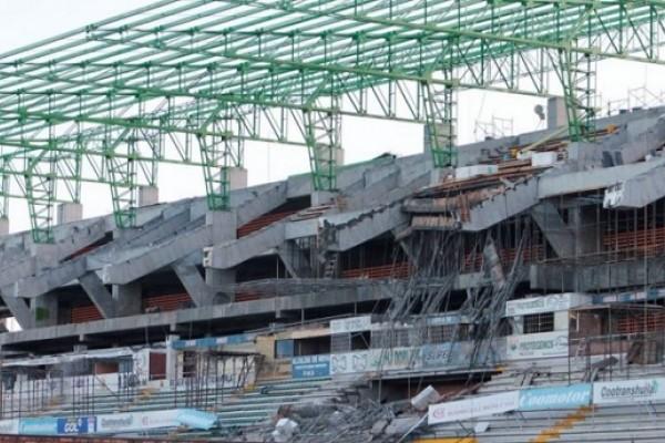 Se cayó el contrato del estadio