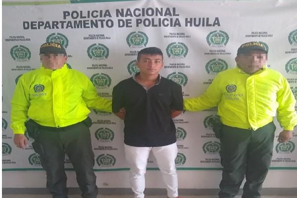 Capturado presunto abusador en la Argentina, Huila