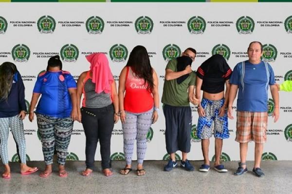 Desarticulado grupo delincuencial 'La Curva'
