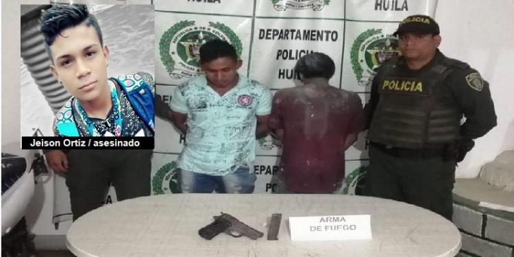 Capturados por matar a un joven en Isnos