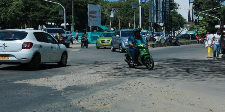 Carrera Septima con Avenida la Toma será cerrado