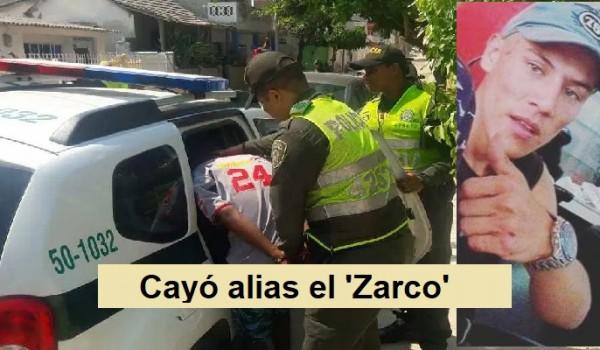 Alias el 'Zarco' en poder de las autoridades