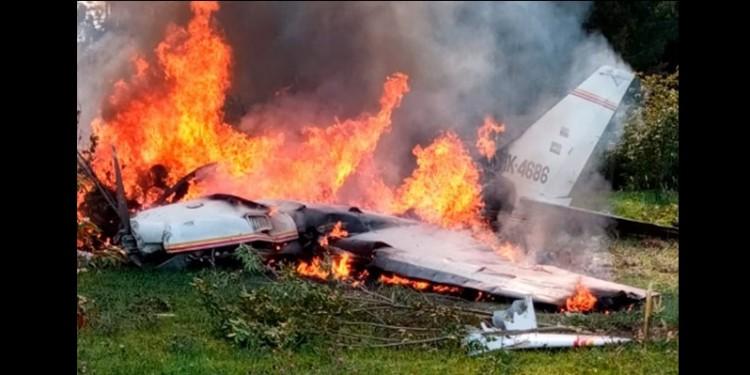 Tragedia aérea en Bogotá
