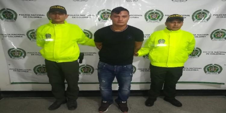 Alias 'Mamut' capturado en Pitalito