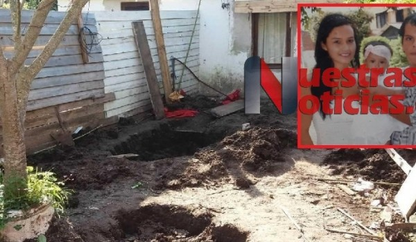 La mató y la enterró en el patio de la casa
