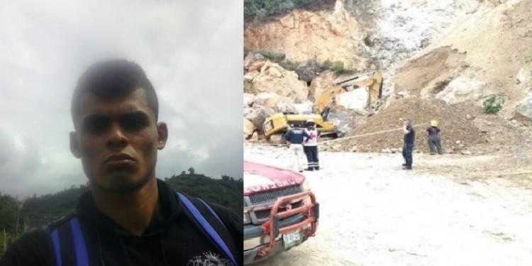 Un hombre murió al caerle una roca en la cabeza