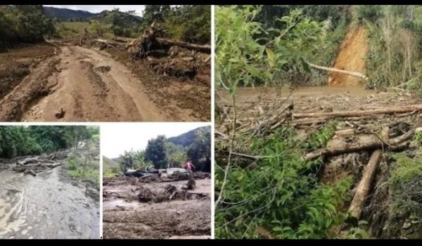 Baraya también vive afectaciones por el invierno