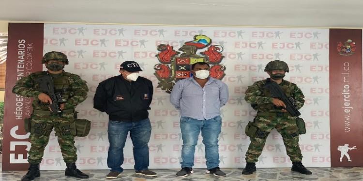 Jefe de las finanzas de las milicias, fue capturado en Algeciras