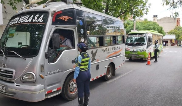 Secretaría de Movilidad, verifica cumplimiento de protocolos de bioseguridad en transporte público