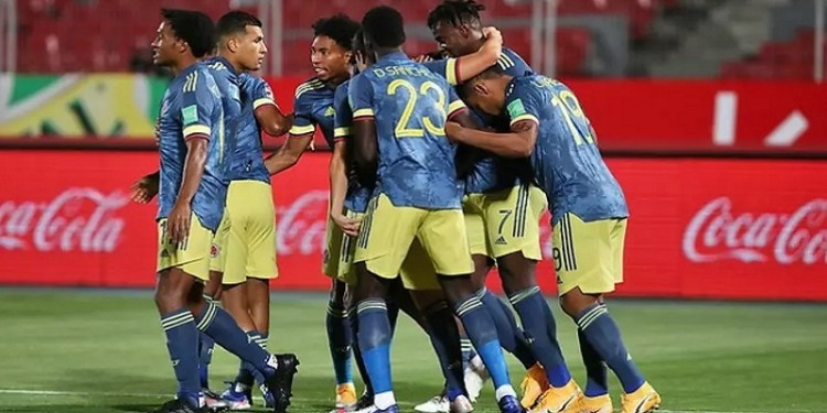 El Tigre Falcao, le dio el empate a Colombia en la última jugada frente a Chile