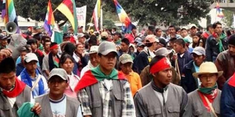 Minga Indígena se trasladará hoy a Bogotá