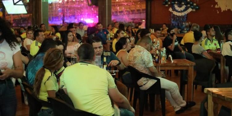 Cerraron algunos establecimientos nocturnos por violar medidas de bioseguridad en Neiva