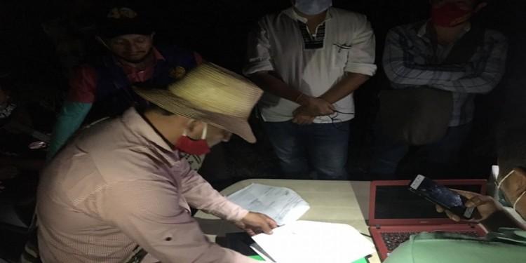 Gobierno Departamental logró poner fin a la Minga Indígena