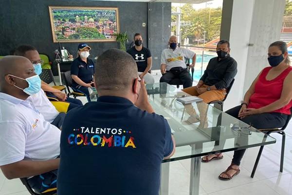 Talentos de las Ligas de Lucha y Voleibol del Huila seleccionados en Programa del Ministerio de Deportes