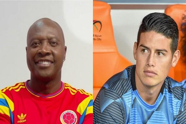 Las críticas de Freddy Rincón contra James