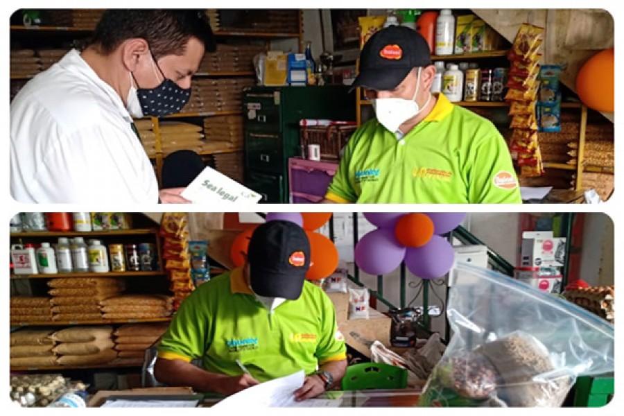 ICA controla la comercialización de alimentos para animales en el Huila