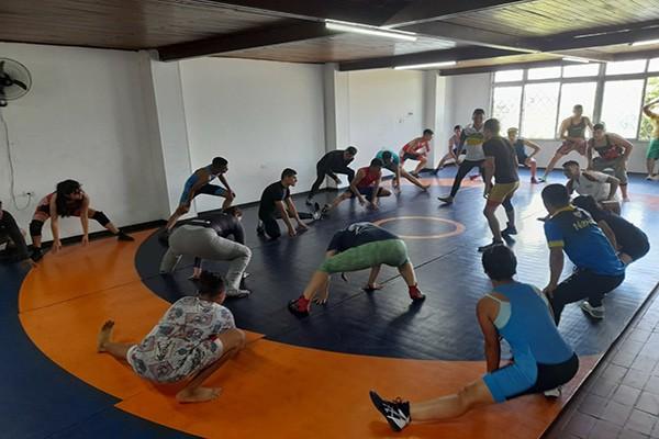 Liga de Lucha del Huila solicita un escenario para sus entrenamientos
