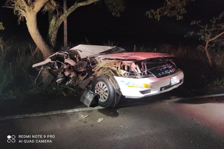 Trágico accidente en la vía Garzón - Altamira