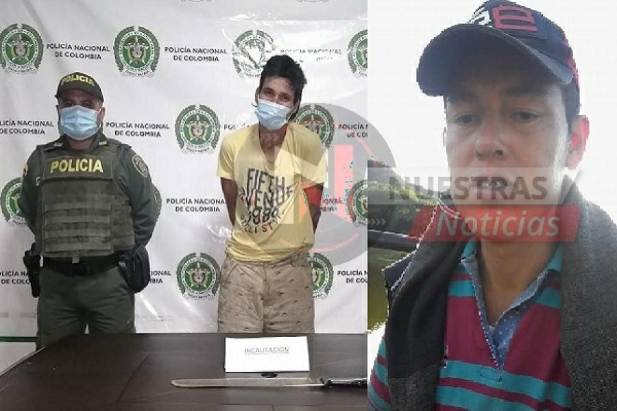 Lo 'pillaron' intentando robar una casa en El Agrado y golpeó al dueño de la misma