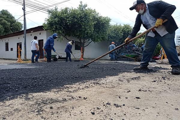 En Neiva avanza la recuperación de la malla vial