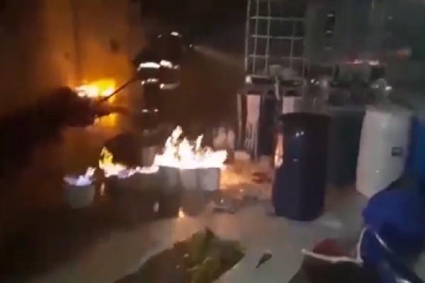 Incendio en Neiva deja millonarias pérdidas