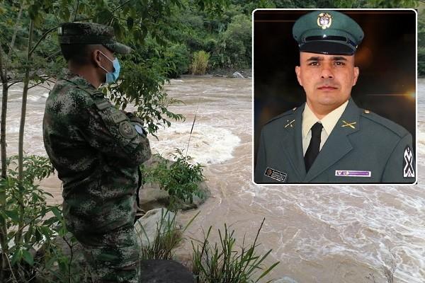Sargento del Ejército sigue desaparecido en río de Íquira