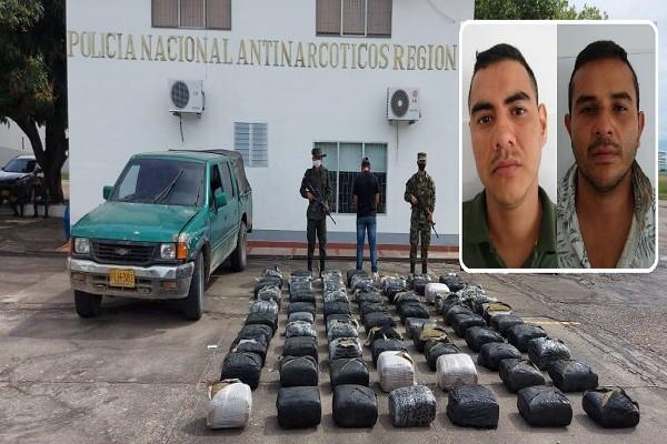 Incautan millonarios cargamentos de marihuana en La Plata y Paicol