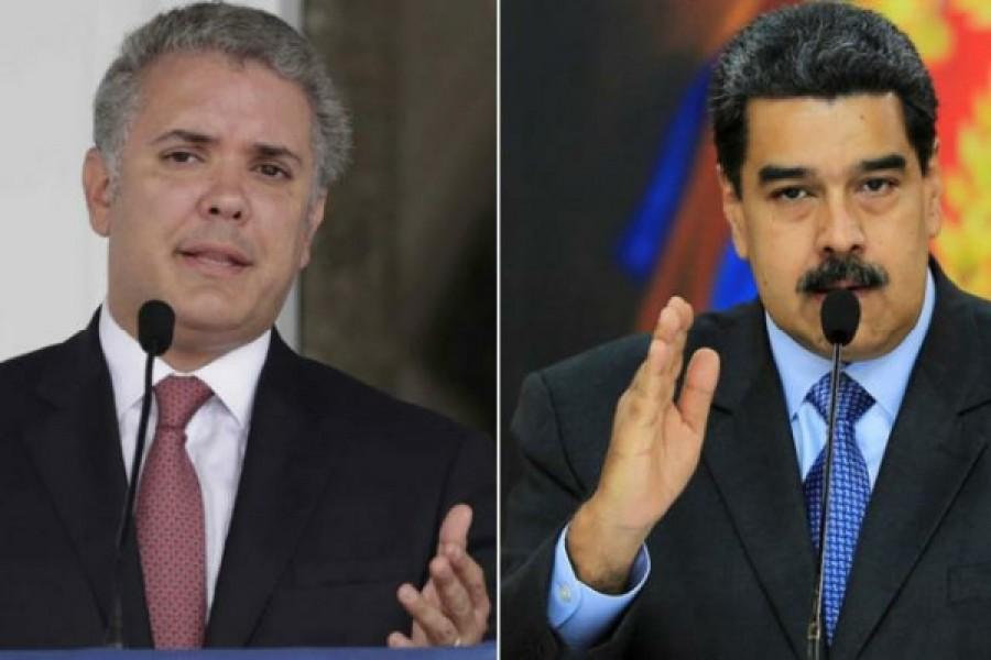 Presidente Duque llama asesino a Maduro