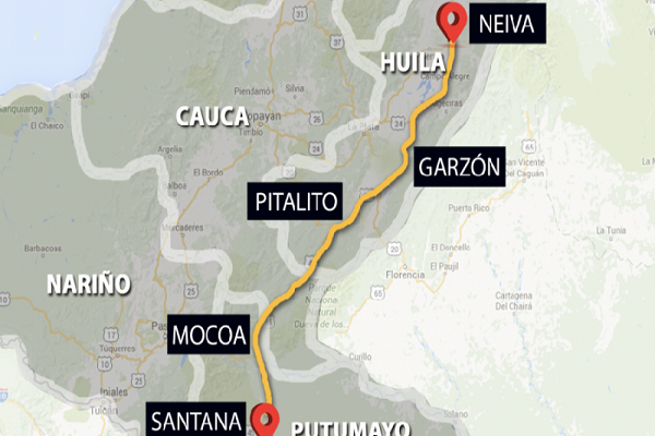Neiva-Santana-Mocoa avanza en cesión total del contrato