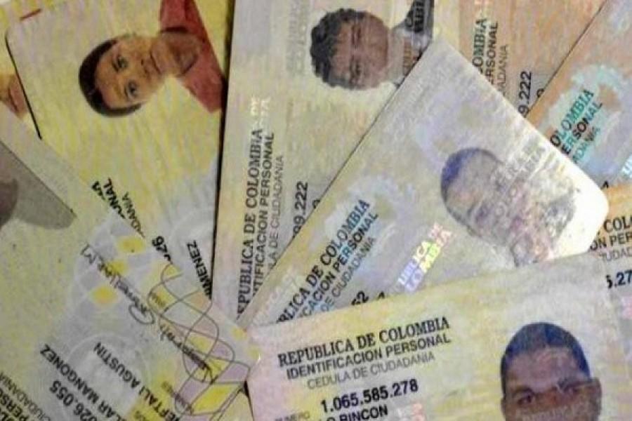 Ciudadanos no están reclamando sus documentos de identidad en el Huila