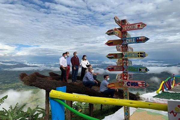 Los compromisos del Ministro de Turismo con el Huila