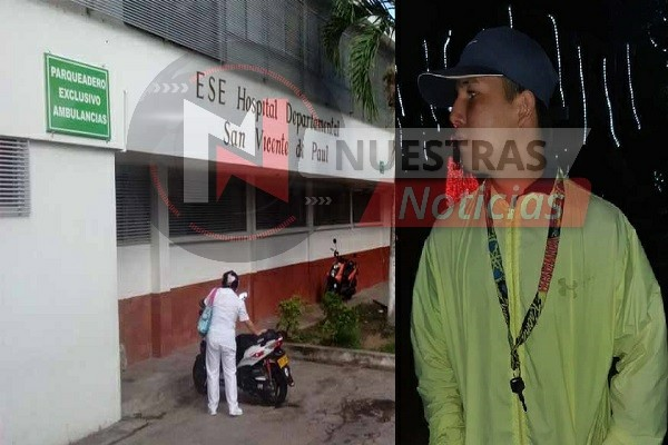 Joven fue apuñalado en Garzón por una camiseta del Nacional