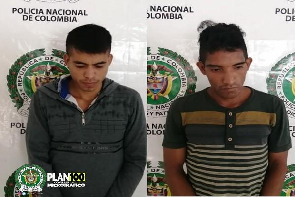 Cayeron con 32 kilo de marihuana en Paicol