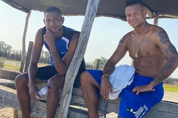 Guarín reaparece, lejos de Millonarios y hasta mostrando barriga