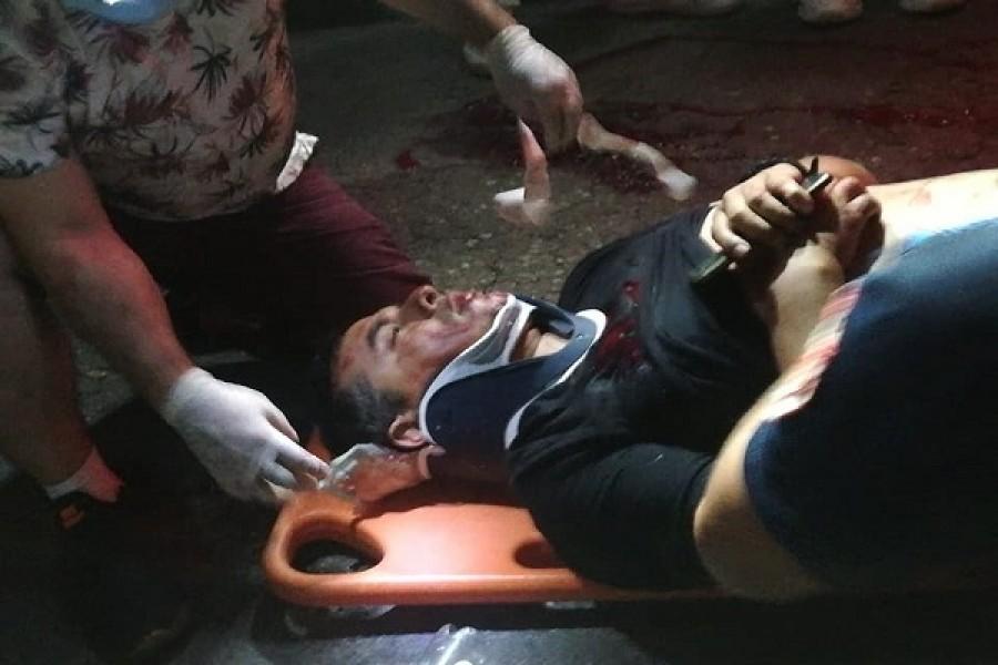 Hombre herido en accidente en Garzón
