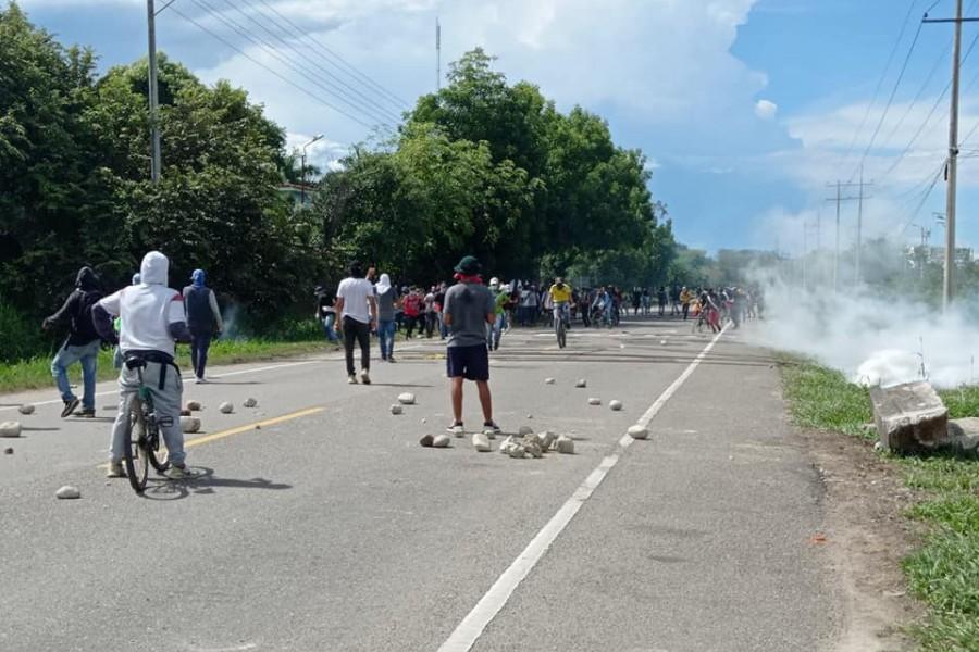 Saqueos, vandalismo, heridos y un muerto dejaron las protestas en Neiva