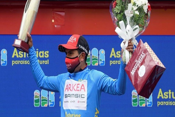Nairo, campeón de la Vuelta a Asturias