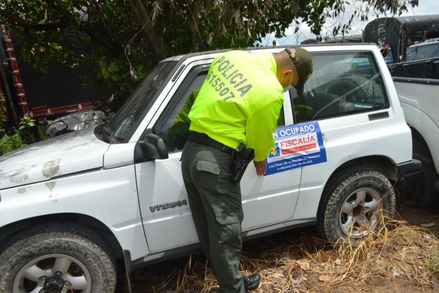 Extinción de dominio a casa y carros en Neiva
