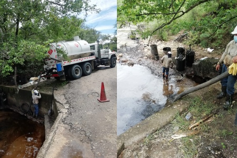 Impacto ambiental tras fuga de fluidos petroleros en Neiva