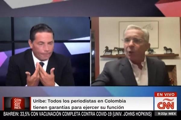 Preguntas del paro desataron la cólera de Uribe