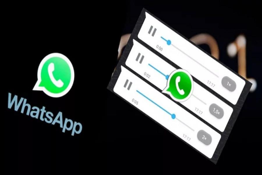 Ya está disponible la opción de acelerar audios de WhatsApp