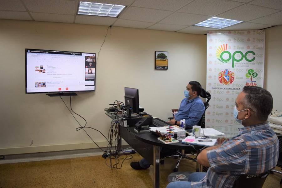 Emprendedores del Huila podrán tener su página web gratis